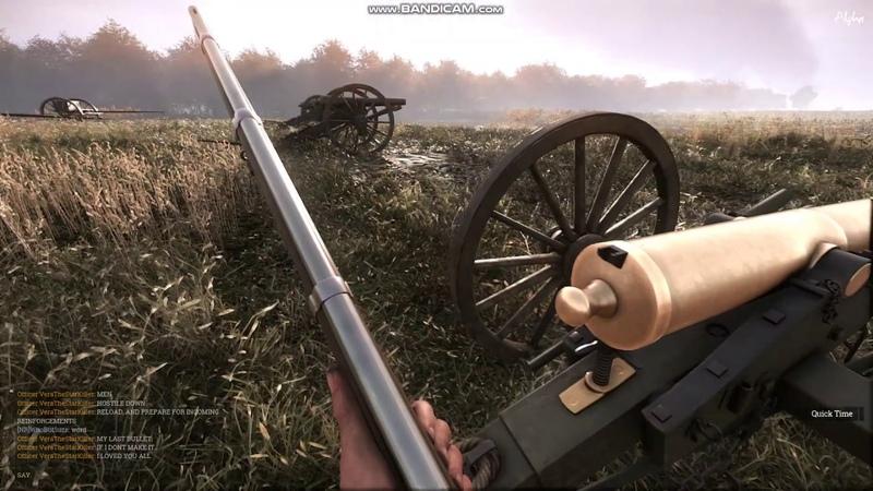 War of rights gameplay бой за кукурузное поле battle for the corn field