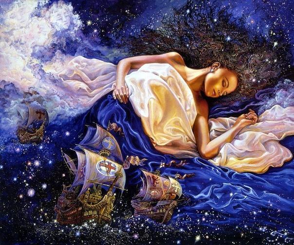 Картины английской художницы Жозефины Уолл Она работает в жанре фэнтези, наверняка многие из вас уже видели где-то её картины, на открытках, обложках тетрадей, или в открытом пространстве
