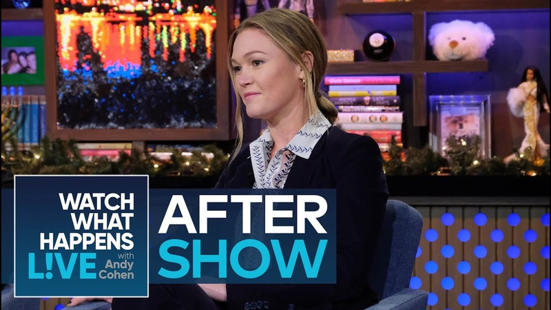 After Show Julia Stiles on Working with Heath Ledger | WWHL
