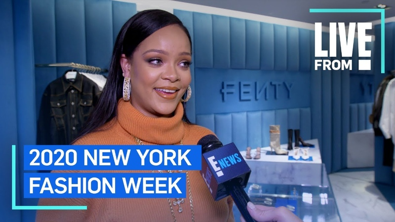 Rihanna Defines Freedom in Fashion at NYFW NYFW E Red Carpet Award Shows