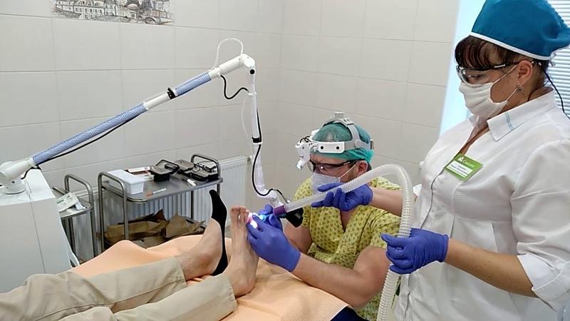Лазерная хирургия в Сонодин. CО2 лазер премиум класса AcuPulse от Lumenis.