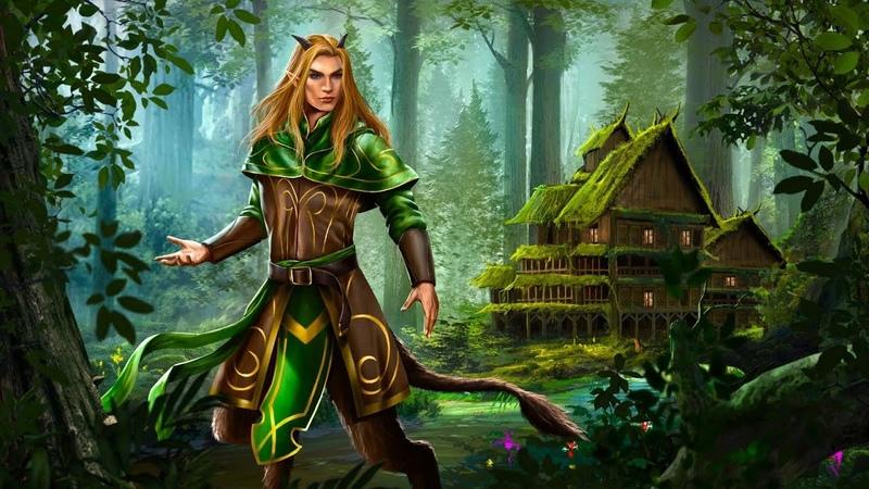 Magical Fantasy Music Green Forest Inn Tribal Faun Dryad