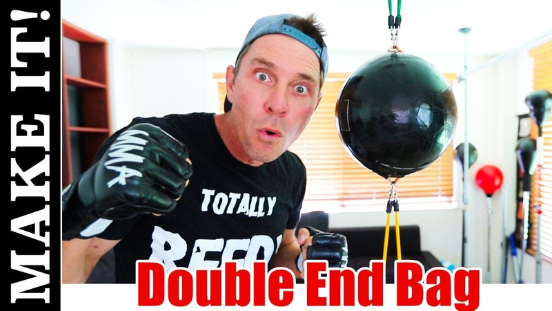 How To Make a Double End Reflex Boxing Bag and Anchor it with a Double Suction Cup to Your Ceiling