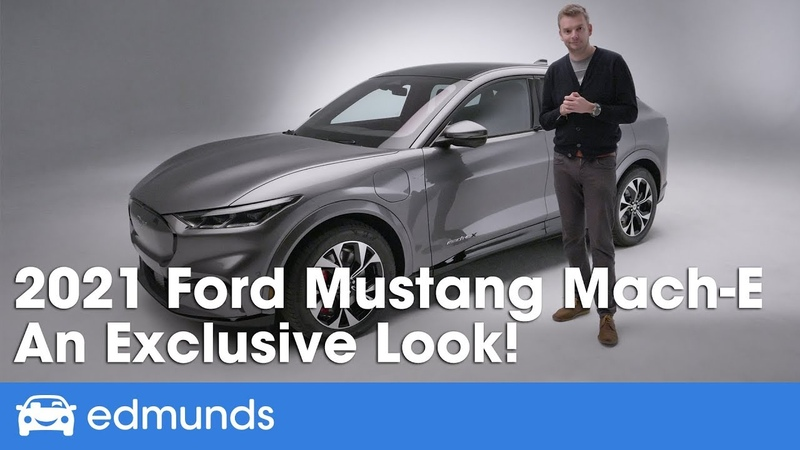 Electric Ford Mustang SUV Ford Mach E Reveal Details