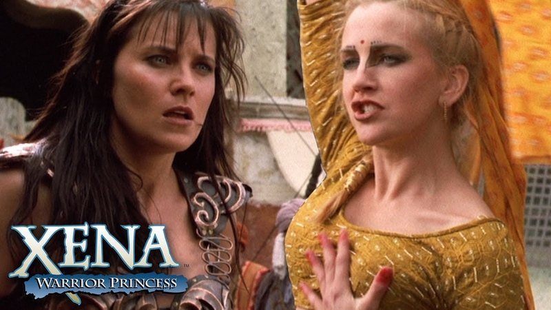 Xena Fights Possessed Gabrielle Xena Warrior Princess