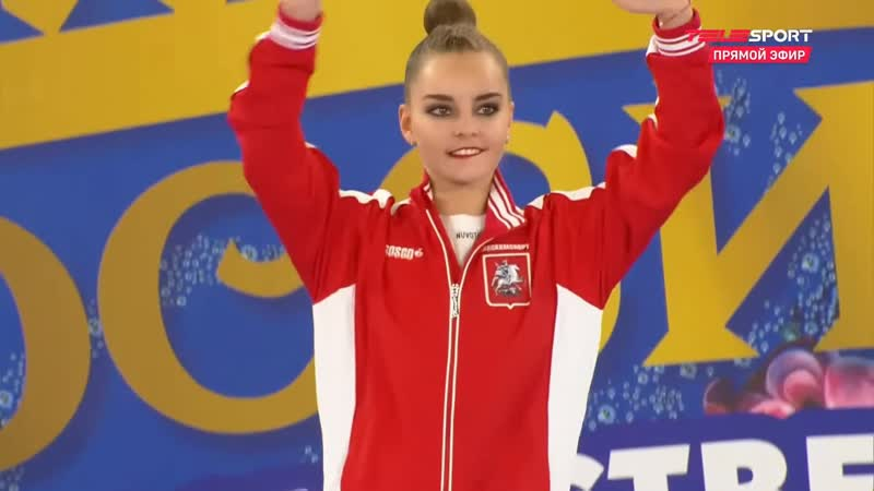 Церемония награждения личное многоборье Чемпионат России 2021 Россия Москва