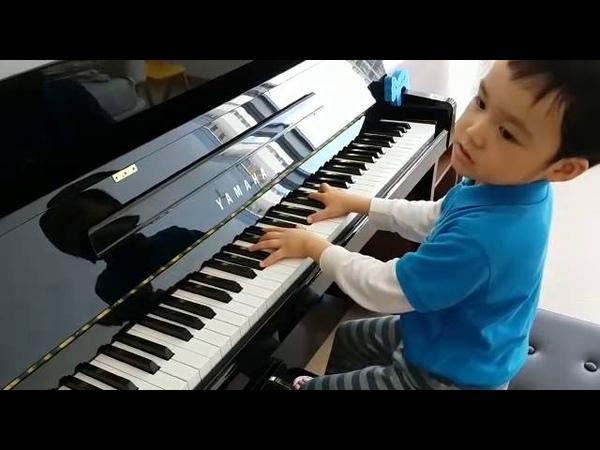 Fantasie Impromptu in C sharp Minor Op.66 of Chopin 蕭邦 幻想即興曲 by Jonah Ho age 5