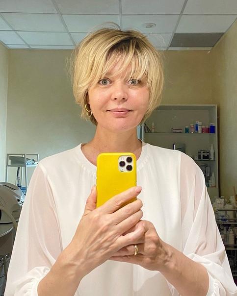 Юлия Меньшова показала себ без макияжа! Напомним, ей 50 лет.