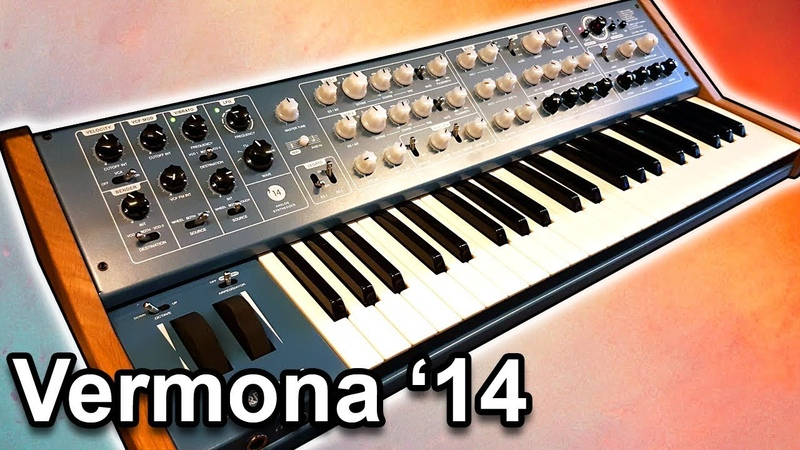 VERMONA 14 Analog Synthesizer Sounds
