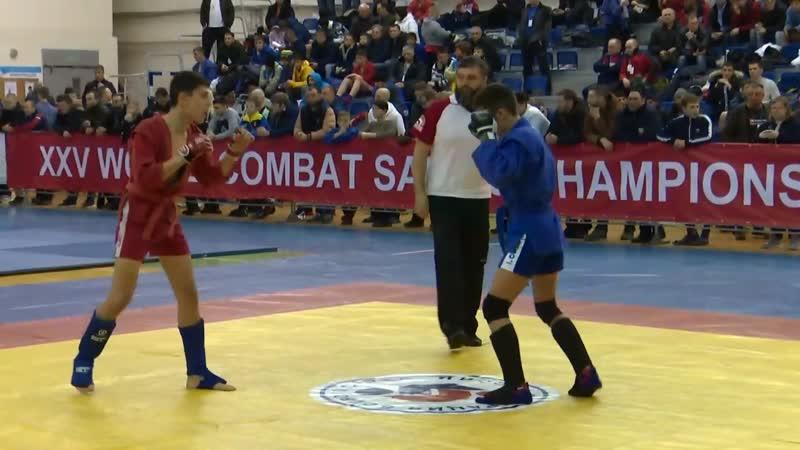 XXV Чемпионат Мира WCSF по боевому самбо 2019