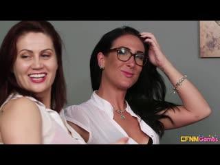 CFNMGames Blondes v Brunettes - Ella Bella Madlin Moon Misha Mayfair Tara Spades