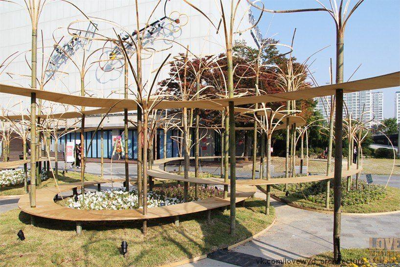 Инсталяция Тойо Ито на биеннале в Корее