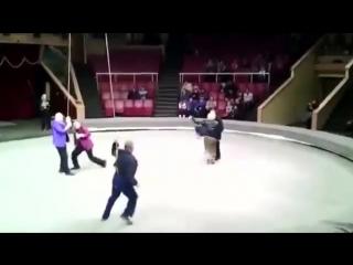 Сходила с пьяным мужем в цирк!))))