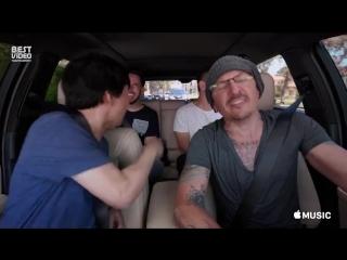 Carpool Karaoke с Честером Беннингтоном за неделю до смерти