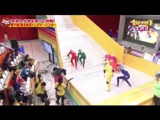 """Японское телешоу """"скользкая лестница"""""""