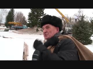 """Появилось полное видео с реакцией жителя Бийска на ёлочку """"Нравится вам ёлочка"""""""