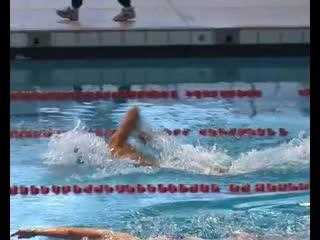 Alexander Popov 50 freestyle in trainning - Rare