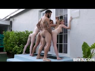 Alice Pink, Lilo Mai, Melody Marks – Beach House Bums [TeamSkeet. Group Sex, Teen]