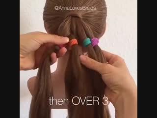 Красивая косичка для девочки
