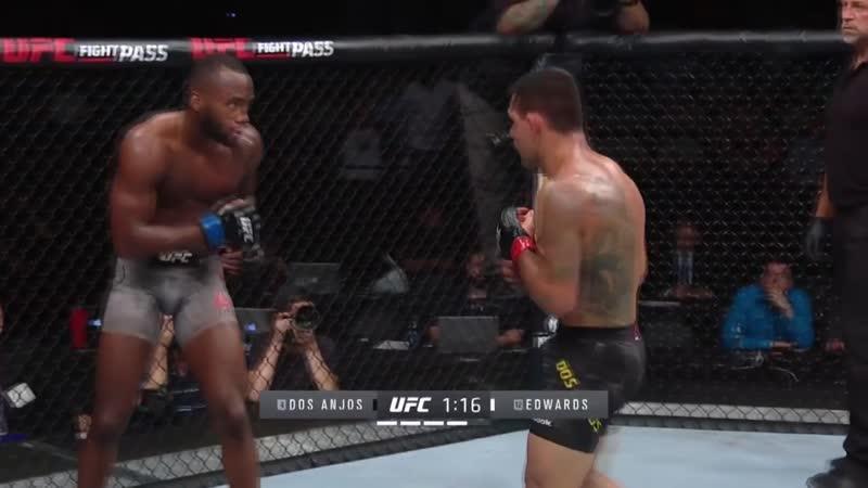 Главные моменты UFC Сан-Антонио: Дос Аньос - Эдвардс