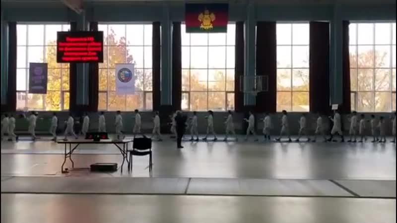 ⚡Торжественное открытие Первенства МО Белореченский район по фехтованию, посвященное Дню народного единства. 🍁12 ноября 2019г. в