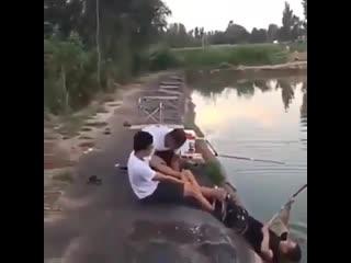 Рыбалка выдалась на ура