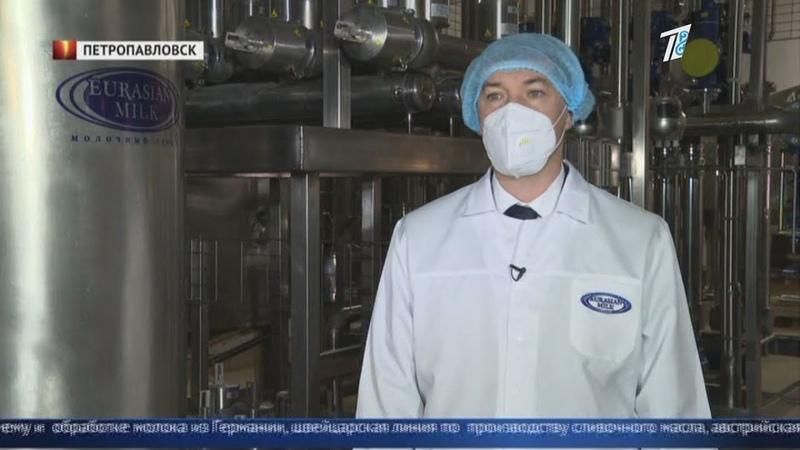 Новое производство в условиях кризиса В Петропавловске запускается молочный завод
