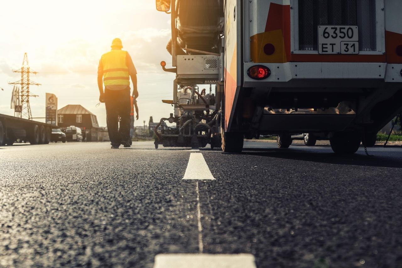 В Курске завершаются дорожные работы