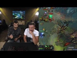 Иван Ургант и Алексей Solo Березин играют в Dota 2. Вечерний Ургант.