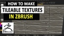 How to Make Seamless Tileable Textures in Zbrush