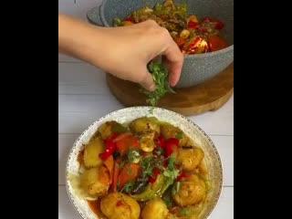 Блюдо которое покорило мое сердце, а какой простой в приготовлении  Нарезал, уложил и Всё