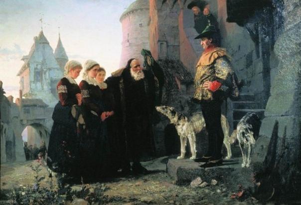 Неугомонный рыцарь Рыцарь Кристиан Фридрих фон Кальбуц слыл неугомонным еб*рем. Получив за свои военные заслуги обширное поместье и удачно женившись на богатой наследнице, он сразу занялся