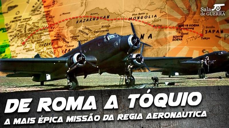 De Roma a Tóquio a Mais Épica Missão da Regia Aeronautica DOC 65