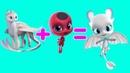 Квами Леди Баг и Супер Кот в образе Драконов Как приручить Дракона 3