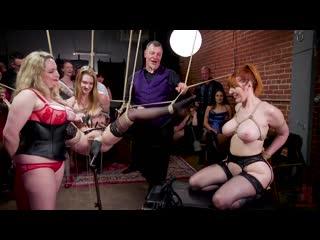 Aiden Starr, Ashley Lane and Lauren Phillips [BDSM, Anal, Orgy]