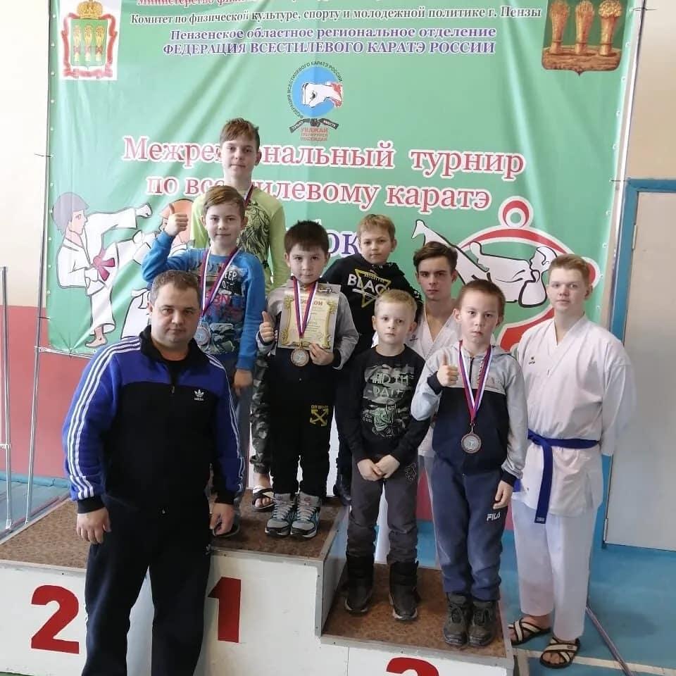 Петровские каратисты достойно представили город на межрегионального турнире в Пензе