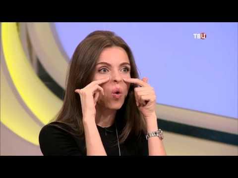 Гимнастика для лица от ассиметрии морщин и опущенных уголков губ с Анастасией Бурдюг