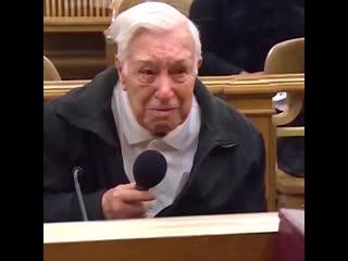 Самый честный судья в мире оправдал 96-летнего старика
