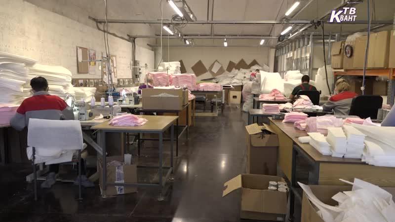 Новое производство защитных масок открыто в Зарайске.