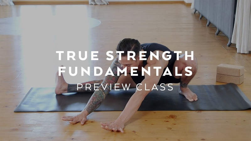Yoga for Beginners Strength Preview Class with Dylan Werner