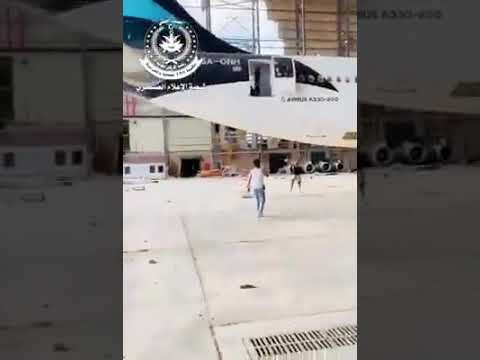 Video clip of GNA forces inside Tripolis airport main building . Tripoli Libya