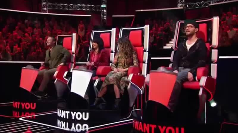 Голос Kids Германия - Натали с песней рок-группы Раммштайн - Без тебя— The Voice Kids 2017 - Natalie - Ohne Dich