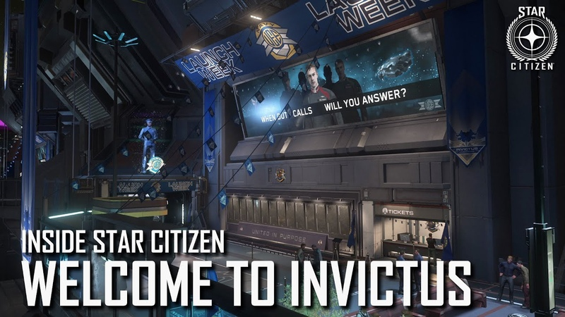 Inside Star Citizen: Welcome to Invictus   Spring 2020