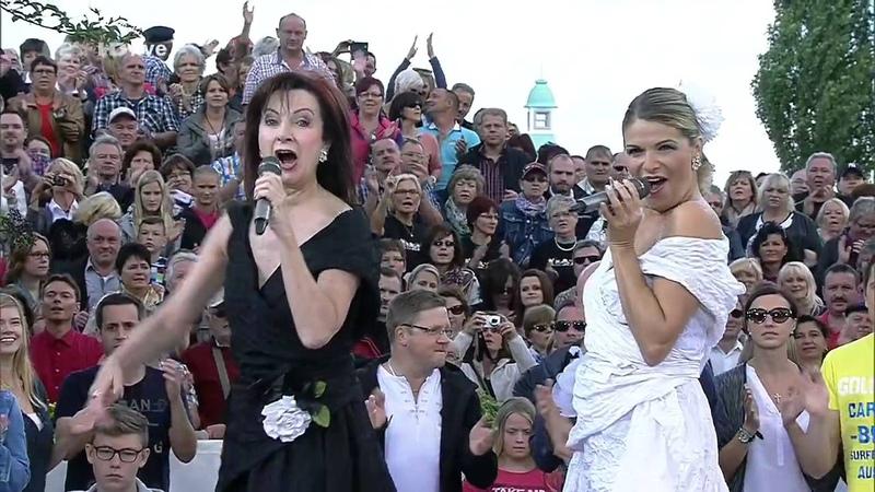 Baccara Yes Sir, I Can Boogie ZDF Fernsehgarten ZDF HD 2014 aug24 nawaf نواف