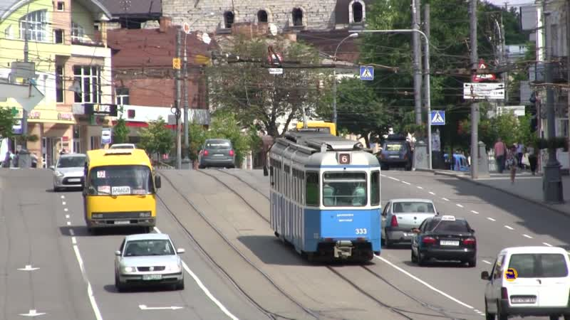 Швейцарский трамвай Винница vs Цюрих Железная дорога