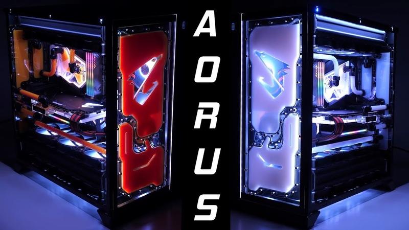 AORUS WaterForce XTREME Time Lapse Build