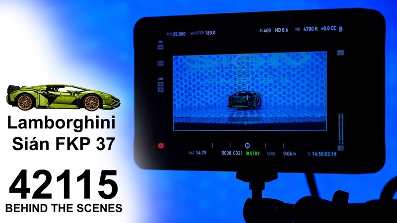 [PROMO 2] 42115 LEGO Technic Lamborghini Sián FKP 37| REVEAL BEHIND THE SCENES