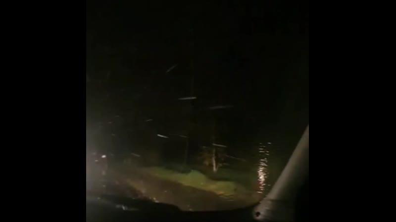 Снег идёт в Краснотурьинске