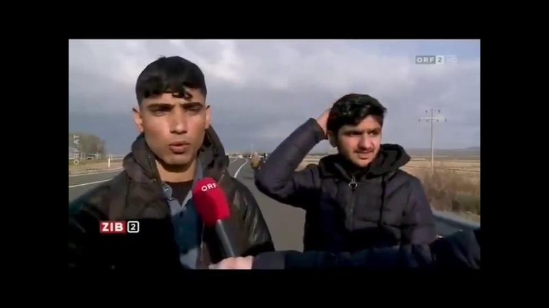 Dieser Flüchtling ist verzweifelt daß er sogar schon seine Eltern bitten muss ihm Geld zu schicken