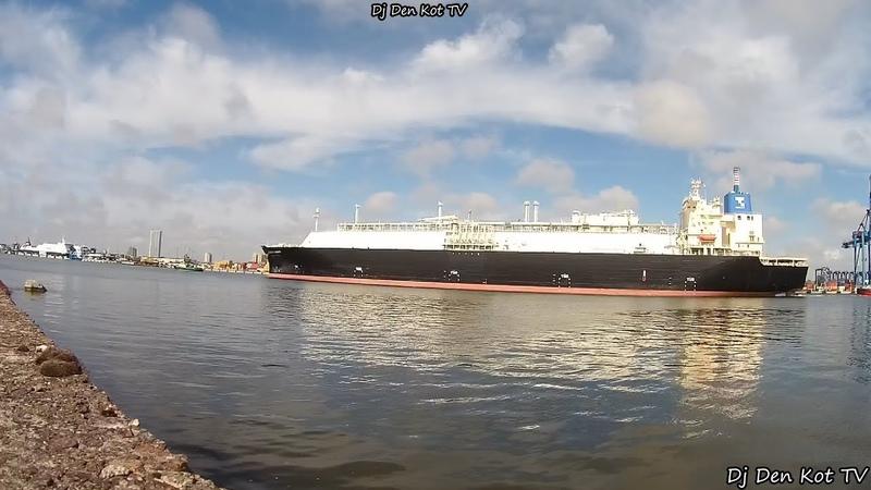 Klaipeda Port Live ENERGY LIBERTY LNG Tanker 2020